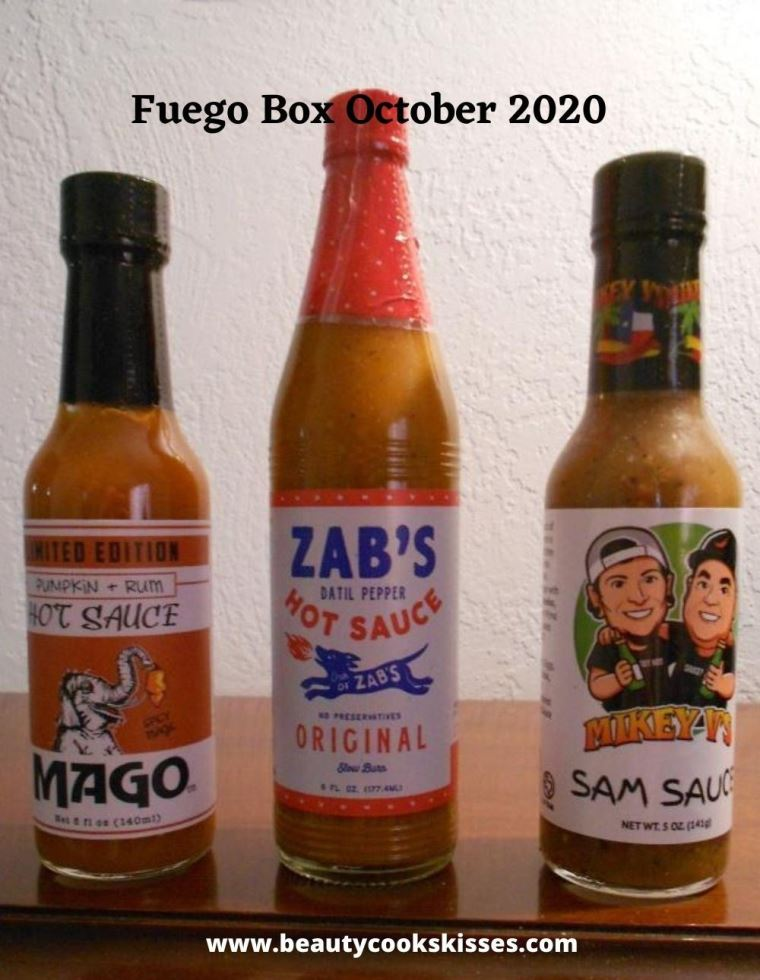 Hot Sauce Subscription Box Fuego October 2020
