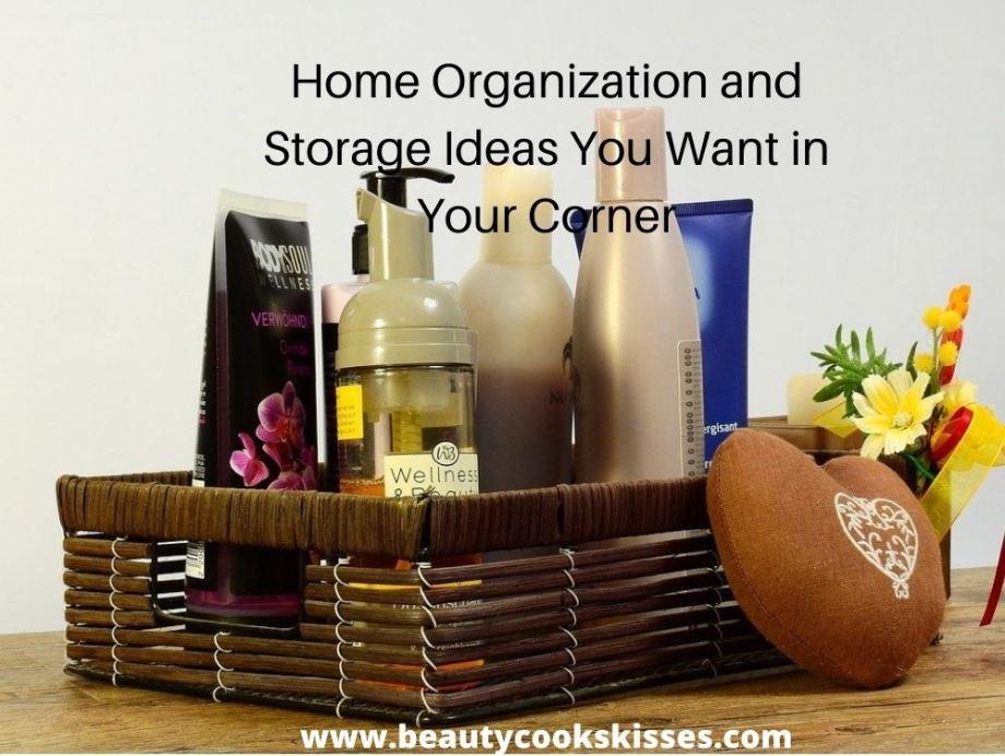 Home Organization and Storage Wicker Vanity Tray