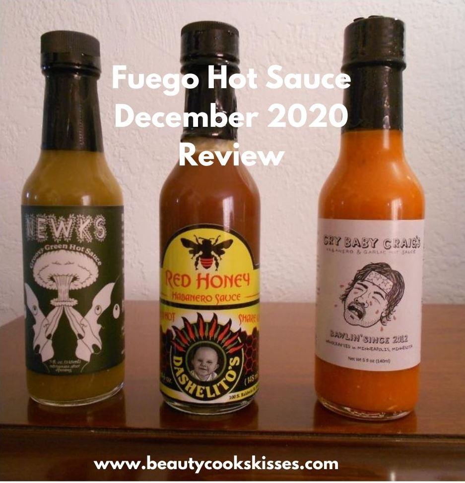 Fuego Box Hot Sauce December 2020