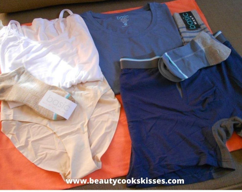 Basic Man Woman Underwear