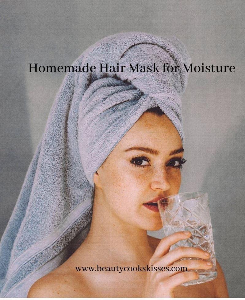 Homemade Hair Mask for Moisture