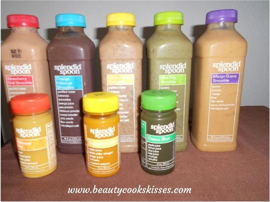 Healthy Meal Delivery Service Smoothies