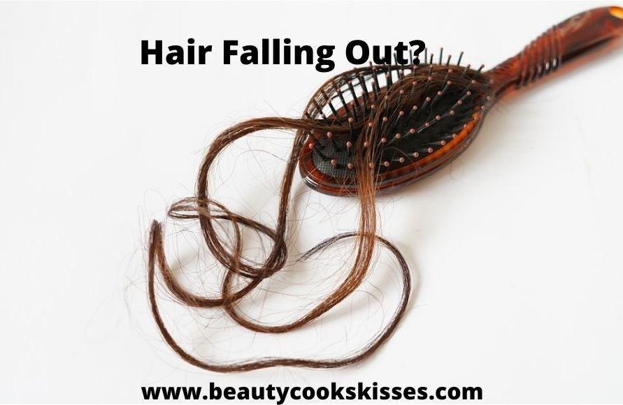 Hair Falling Out Hair in Brush