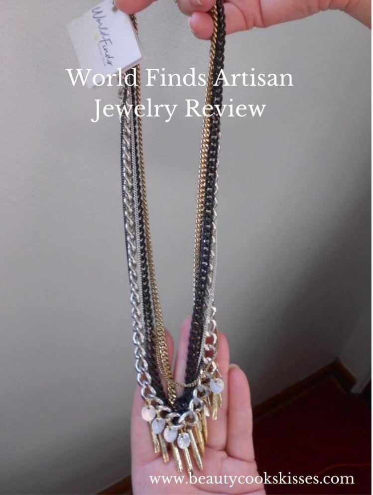 World Finds Artisan Jewelry Spiked Metallics Necklace