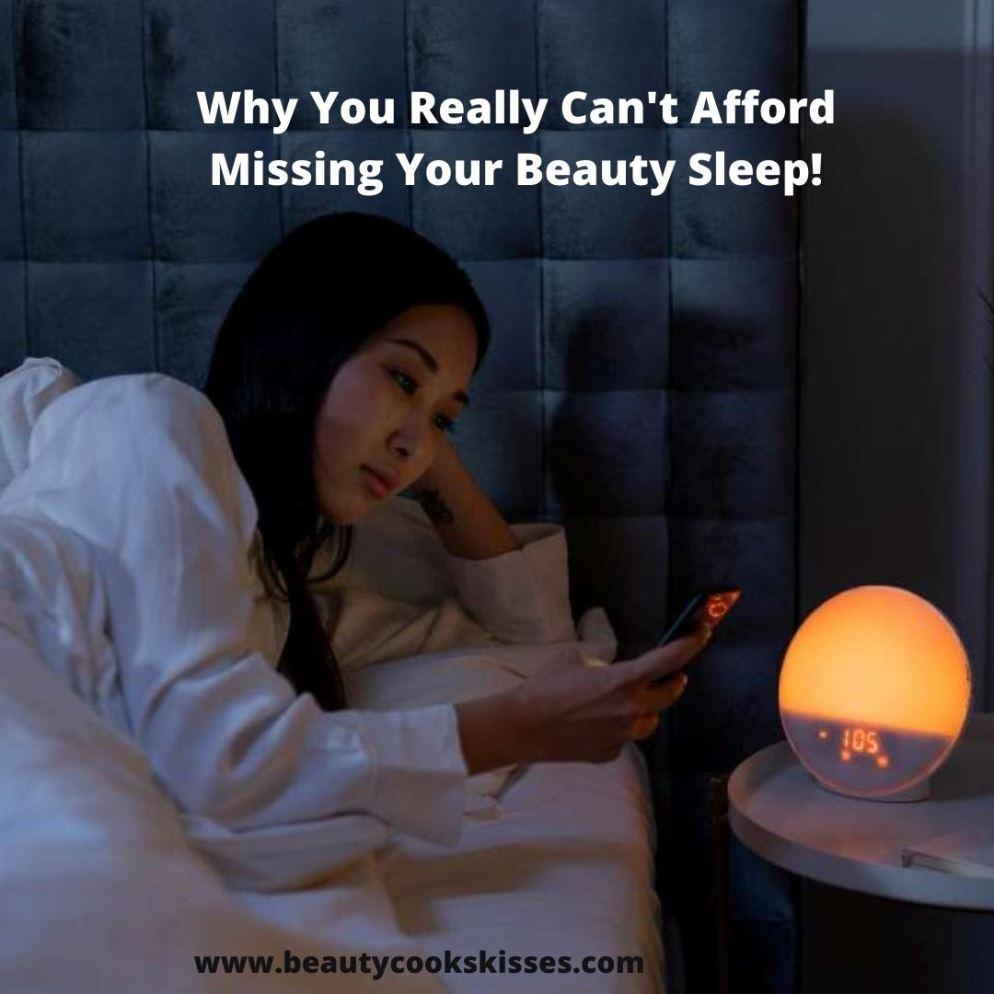 Beauty Sleep Woman Trying to Sleep