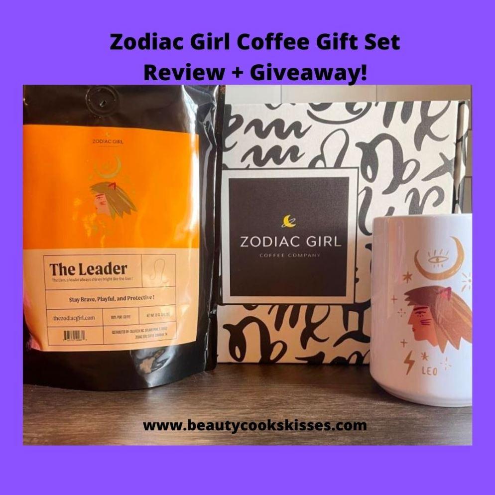 Zodiac Girl Coffee Gift