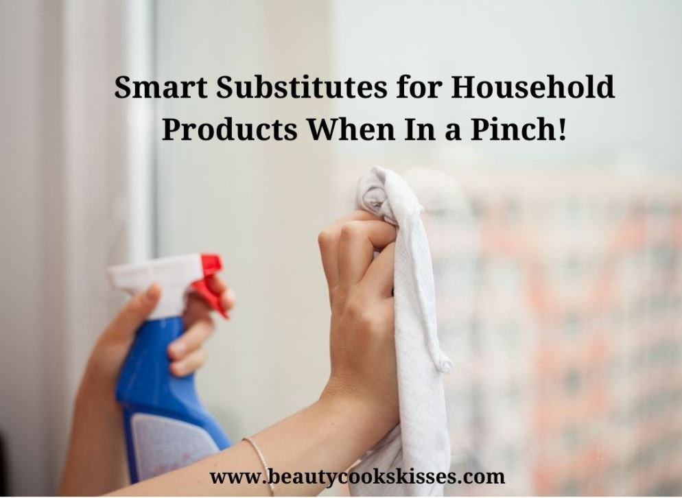 Smart Substitutes for Household Products Cleaning