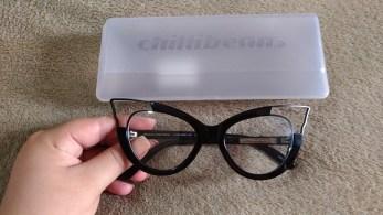 armação oculos de grau gatinho chilli beans 20 anos - Armação Óculos de Grau estilo mulher gato da Chilli Beans