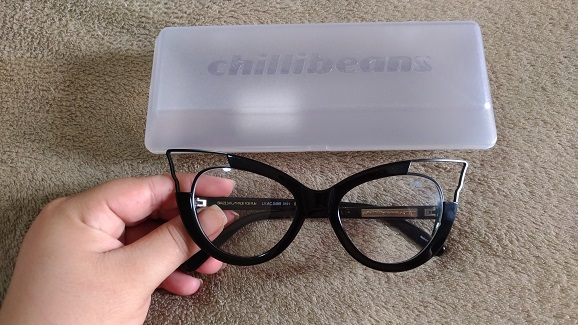 2cca7621b Armação Óculos de Grau estilo mulher gato da Chilli Beans • BeautyCris