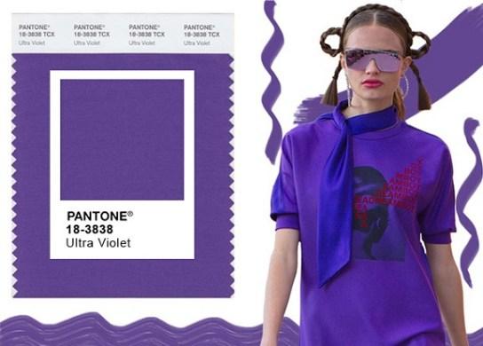 Ultra Violet é a cor escolhida pela Pantone para 2018