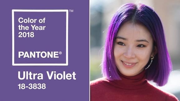 cabelo Ultra Violet