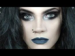 batom metalhead dani corpse - Metalhead: O batom cinza azulado da Dani Corpse