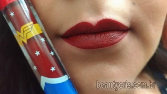 batom amazona Wonder Woman by T.Blogs