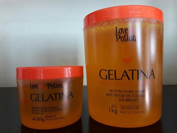Gelatina capilar Love Potion