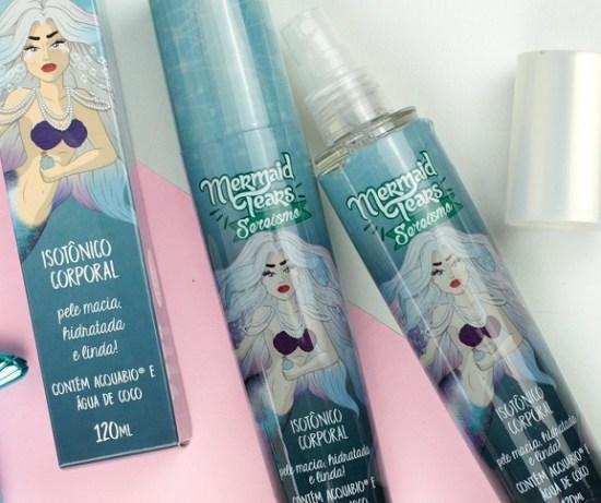 Mermaid Tears: O isotônico corporal da linha Sereismo