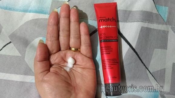 textura Match S.O.S Reconstrução Máscara