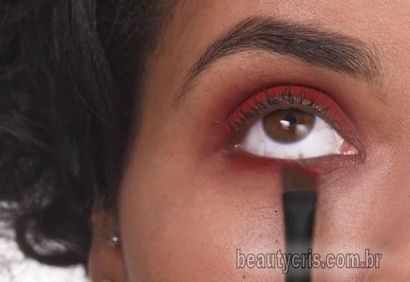 sombra avermelhada como usar