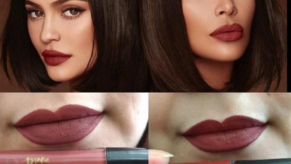 Dupes do batom Soul Sister da Kim Kardashian com a Kylie Cosmetics