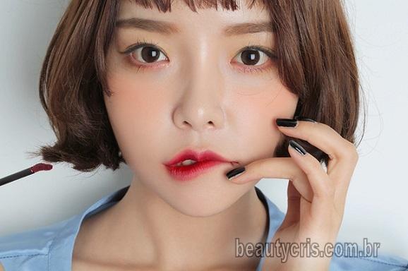 Lip Tint Nacionais: Opções do famoso batom tinta usado pelas coreanas