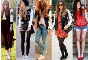 Moda Adolescentes Inverno Roupas Femininas - Moda Feminina para Adolescentes Outono- Inverno
