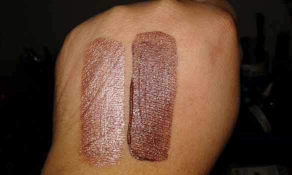 Swatches cores Clicquot e Whisky Dailus