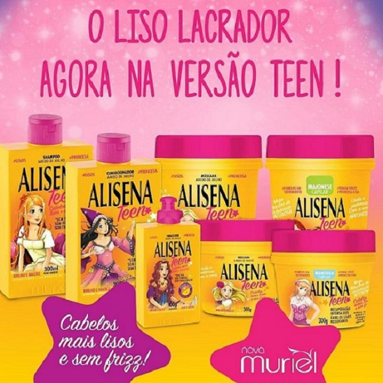 Alisena Teen da Muriel para crianças e adolescentes