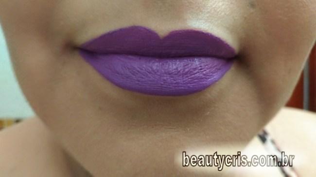 batom-violeta-líquido-mate-ppf-693x390 Resenha do Batom T.Blogs Violeta do Pausa para Feminices