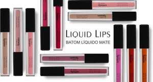 contem 1g 2 - Resenha: Liquid Lips Batons Liquido Mate da Contém 1g