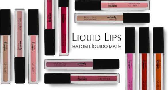 Liquid Lips: Os batons líquidos da Contém 1g