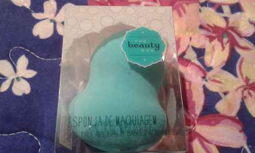 Esponja  de maquiagem  the beauty box