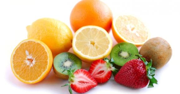 frutas ricas em vitamina c