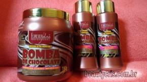 linha bomba de chocolate forever liss - Resenha da Linha Bomba de Chocolate da Forever Liss