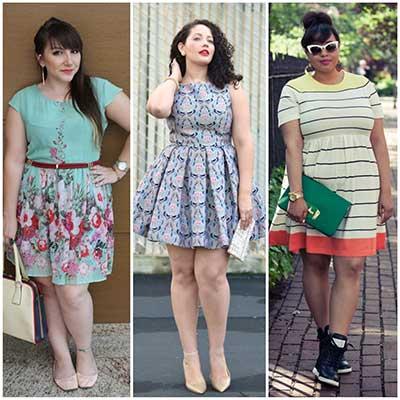 moda para gordinha 2015