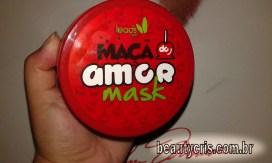 resenha mascara maça do amor - Maçã do Amor: A máscara Antioxidante da Leads Care