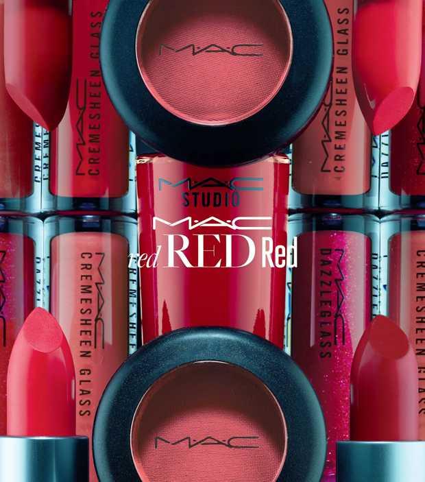 collezione mac red red red