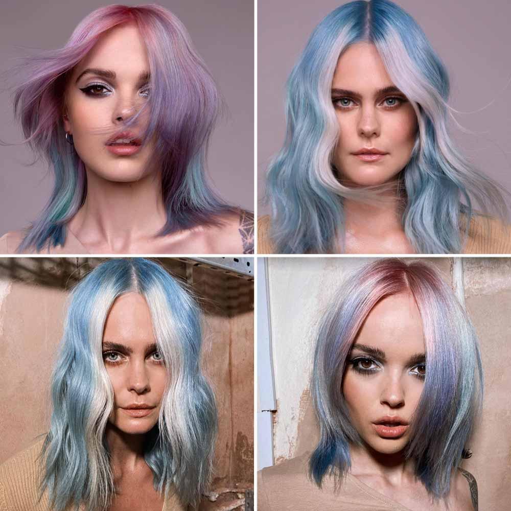 Hairstyle inverno 2021 capelli medi ciuffo