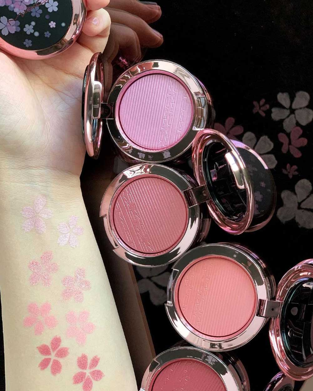 Swatches blush MAC