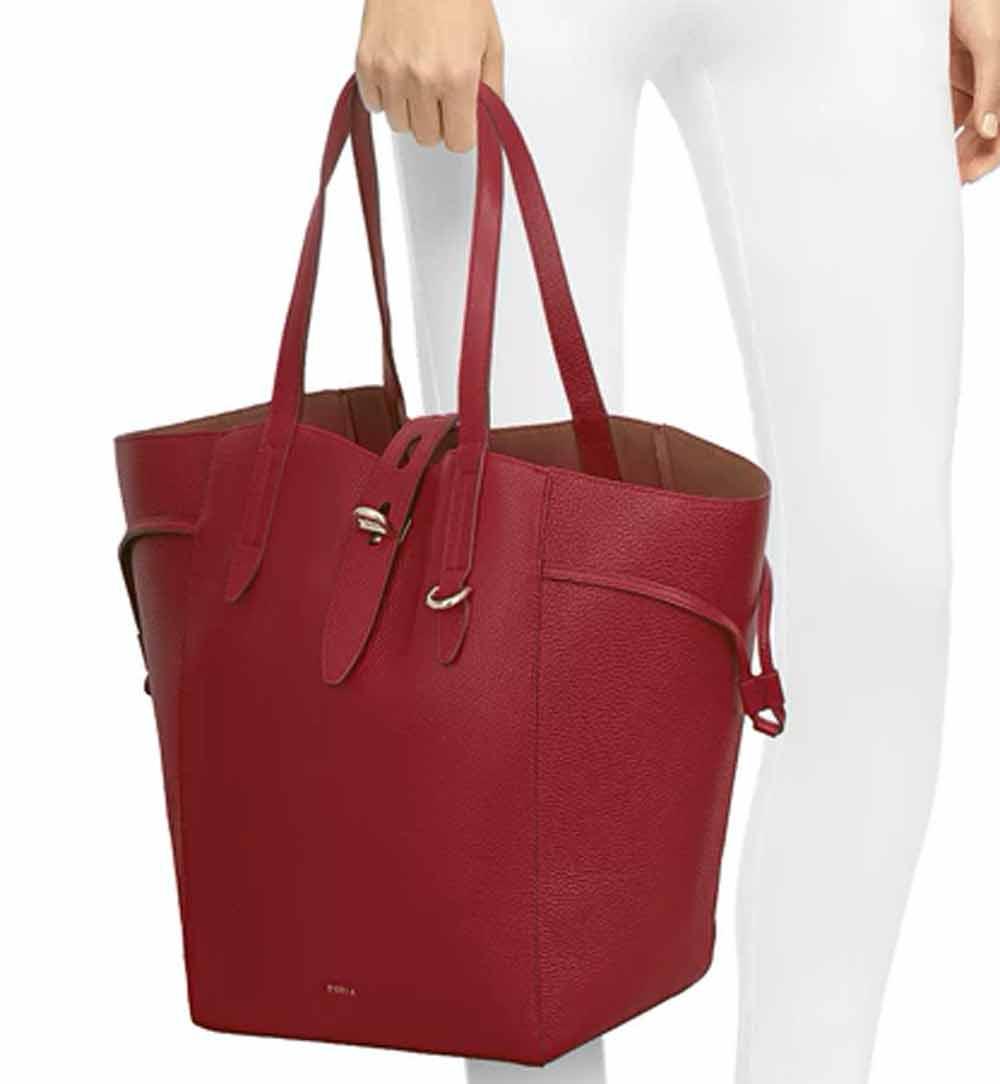 shopping bag con manici