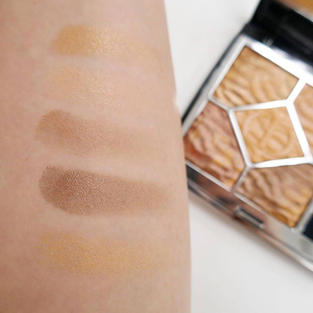 Swatches palette ombretti Dior Mirage