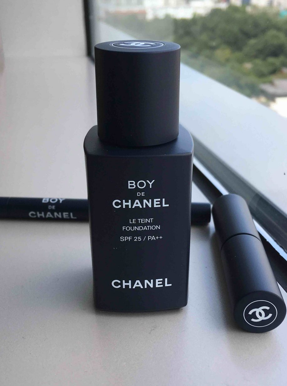 Maquillage homme Chanel lance Boy en avantpremire en Core