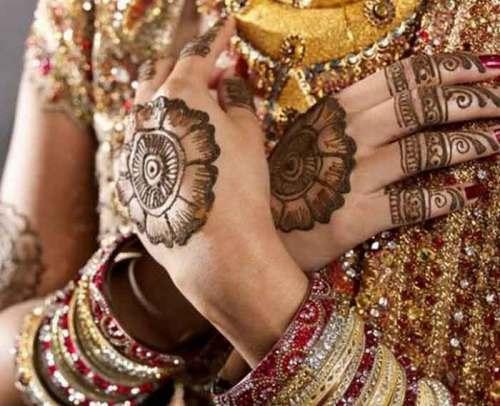 bridal circle mehndi