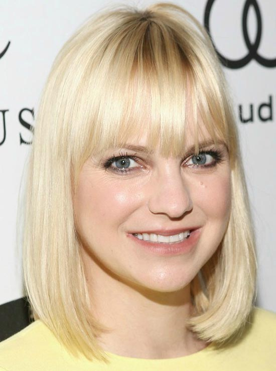 Anna Faris Long Bob Hairstyles