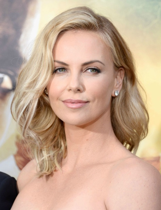 Charlize Theron Shoulder length Hairstyles
