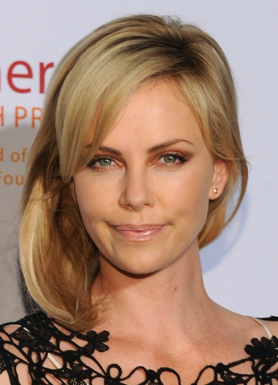 Charlize Theron Spiral curls