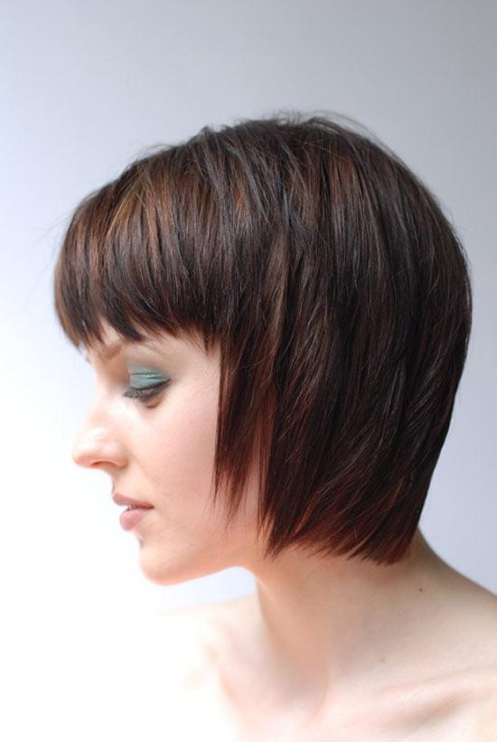 Chelsea Hobbs Angled Bob Hairstyle
