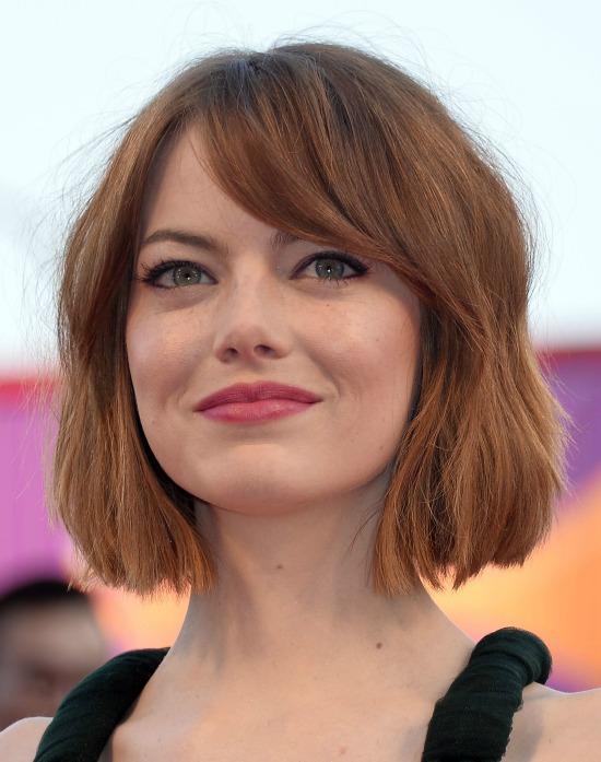 Emma Stone Exact Bob Hair Cut