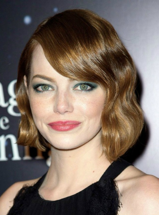 Emma Stone's Retro Bob Haircut