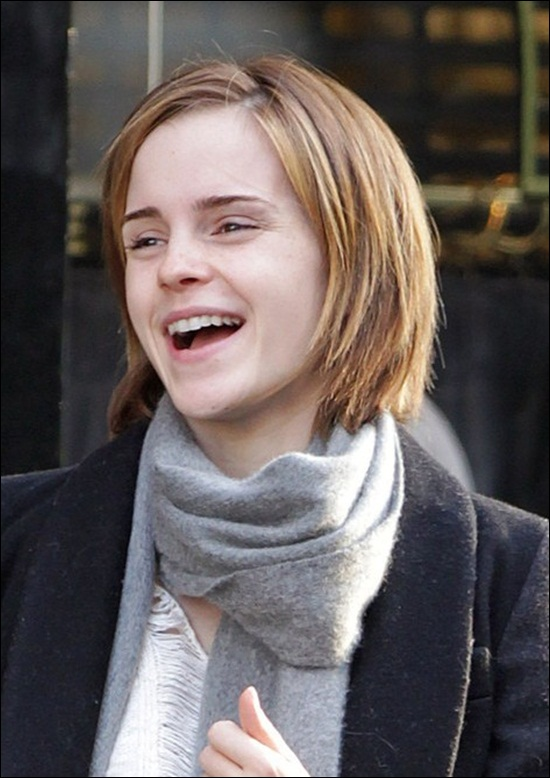 Emma Watson Medium Bob Hairstyles