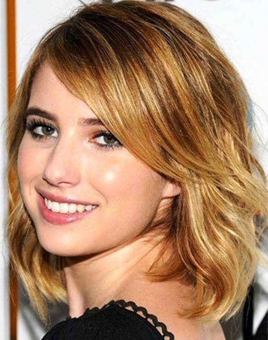 Emma roberts Medium Bob Hairstyles