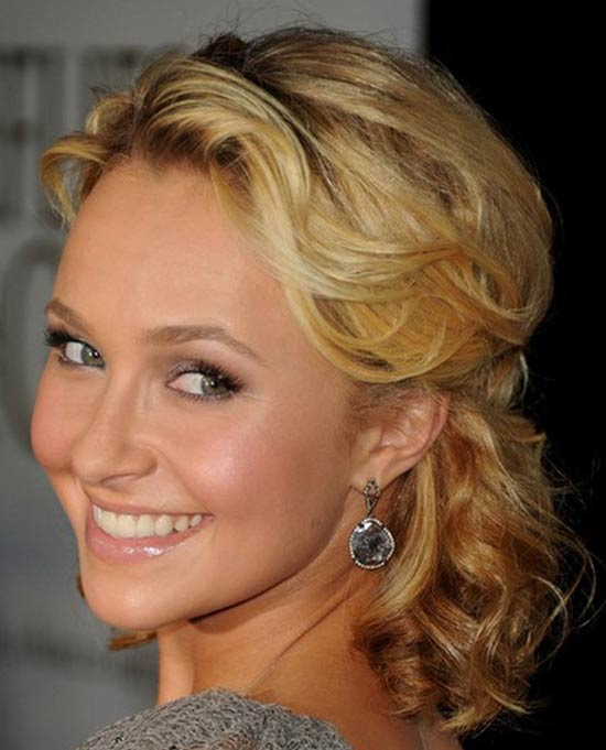 Hayden Panettiere Medium Curly Hairstyles